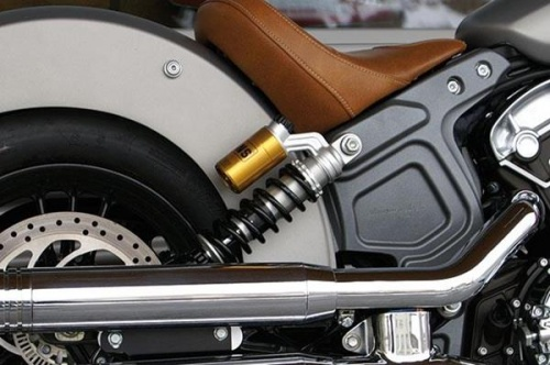Ohlins Rear Shocks for Indian Scout  Sixty